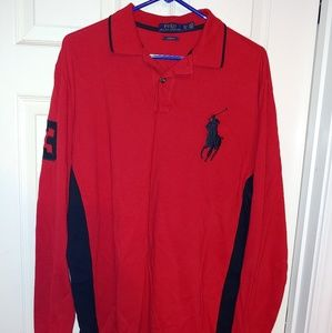 Polo Ralph Lauren Custom Fit long Sleeve Polo Shir